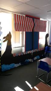 viking ship my colleague and i created for a year 4 classroom