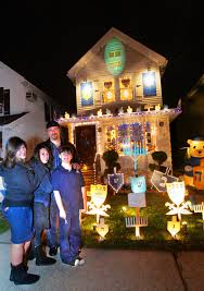 decorations for hanukkah hanukkah in the house mill basin family brightens up the