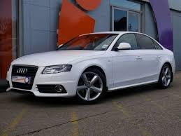 a4 audi 2008 2008 audi a4 s line 2 0tdi 143 saloon white for sale in hshire