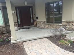 Concrete Patio Resurfacing Products by Stone Over Concrete Porch Welcome Home Quinju Com