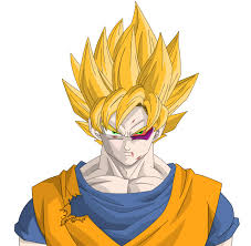 dragon ball z coloring pages goku super saiyan in dragon ball z