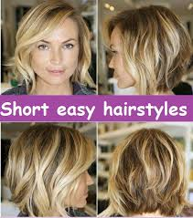 hairstyles for wavy hair low maintenance the best short easy hairstyles images collection related to short