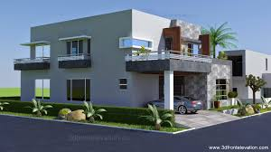 contemporary house design 3d front elevation com 1 kanal contemporary house plan design create