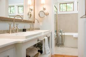 brushed nickel mirror bathroom traditional with bath accessories