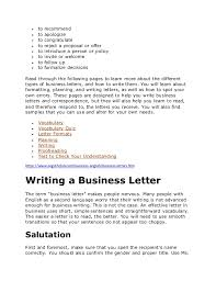 Business Letter Quiz With Answers Business Letters In