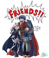 Ike Memes - ike hugging corrin and marth super smash brothers know your meme