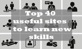 top 40 useful sites to learn new skills