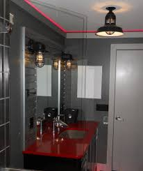 industrial bathroom vanity lighting lighting awesome industrial chic bathroom vanity lights diy light