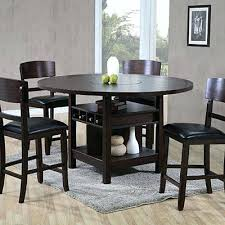 Pub Table Set Pub Table Set With Storage Pub Style Kitchen Table With Storage