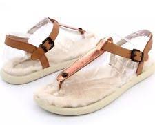 ugg layback sandals sale ugg australia sheepskin flip flops for ebay