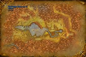 Wow Kalimdor Map Wow Farmer Copper Ore Wow Mining Redridge Mountains Wow Map