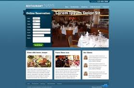 free restaurant website templates phpjabbers