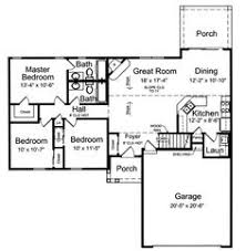 Rancher House Plans Ranch Style House Plans 1437 Square Foot Home 1 Story 3
