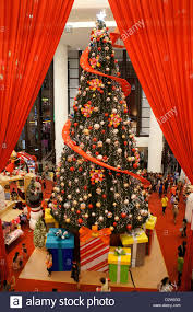 Christmas Decorations Shop Westfield by Christmas Decoration In Shopping Mall Stock Photos U0026 Christmas