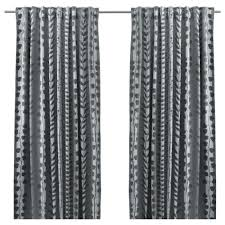 Black And Gold Damask Curtains by Curtains Ready Made Curtains Ikea