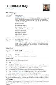 Accountant Assistant Resume Sample by Seo Executive Resume Samples Visualcv Resume Samples Database