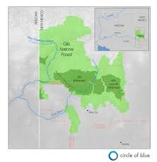New Mexico Cities Map by Gila River Diversion In New Mexico Pits New West Vs Old Circle