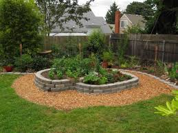 landscape landscaping ideas for downward sloping backyard the