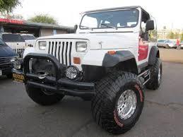 white four door jeep wrangler for sale 1992 jeep wrangler for sale carsforsale com