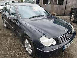 2001 Benz Mercedes Benz C Class C180 Avantgarde 4dr Blue 2001 In Hyde