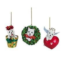 westie ornament decore