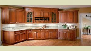 wood cabinets kitchen home interior living room