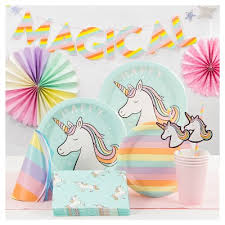 party supplies enchanted forest unicorn party supplies collection target