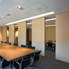 conference room divider function hall soundproof wooden movable