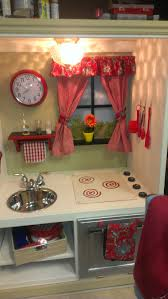 preschool kitchen furniture play kitchen from entertainment center painted with sloan