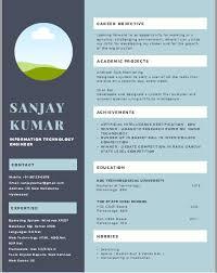 resume format for fresher resume format cv format freshers resume sle templates