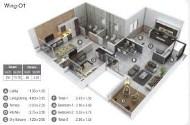 100 520 square feet studio apartment floor plans court