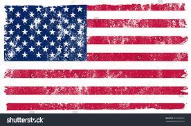 Usa Flag Vector Grunge Usa Flagvintage American Flagvector Stock Vector 531689395
