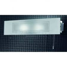 franklite lighting fl2313 1 switched 1 light chrome and glass