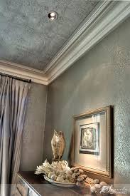 love the textured wallpaper ceiling dine me pinterest i love a ceiling paint treatment this one a stencil with