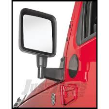 jeep parts buy rugged ridge mirror relocation bracket in black