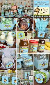 Baby Monkey Centerpieces by 14 Best Images About Monkey Baby Shower On Pinterest Themed Baby