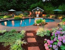 Best Awesome Sun Deck And Swimmingpool Designs Images On - Great backyard pool designs