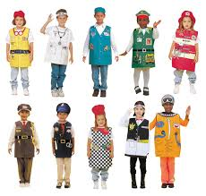 amazon com dexter occupations costumes with hats for children