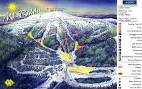 Montana Ski Resorts Map by Mt Baldy Family Ski Area Trail Map U2022 Piste Map U2022 Panoramic
