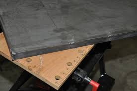 harbor freight welding table welding a welding table cheerful curmudgeon dimensions regarding