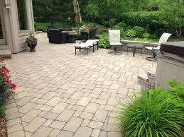 Brick Paver Patio Installation Chicago Patio Brick Pavers Aztec Stone Design
