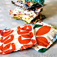 kids crafts sewing with kids easy lavender bags red ted art u0027s blog