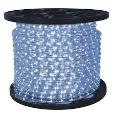 led cool white chasing rope light led dlch cw