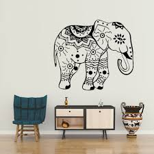 indian interior design promotion shop for promotional indian elephant wall decals indian elephants lotus vinyl decal sticker animals interior design art mural living room bedroom decor