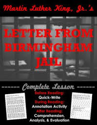 letter from birmingham jail quiz multiple choice king jr and