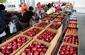 monthly fruit delivery riverside 12 ton apple delivery helps ensure kids healthy