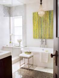 Bath Wall Decor by Vintage Bathroom Wall Decor Flooring Ideas Completed Cool White