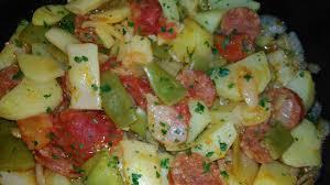 comment cuisiner les haricots plats haricots plats pommes de terre tomates et chorizo recettes cookeo