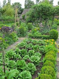 potager garden raised beds flowers and edible crops a potager
