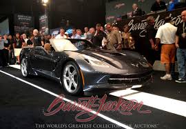 corvette auctions rick hendrick buys 2014 corvette stingray convertible